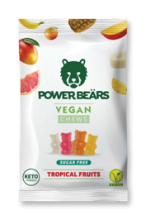 Power Beärs Vegan Chews - Tropical Fruits